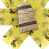 Set of 3 large beeswax wraps -Bee 🐝 design