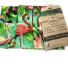 Pack of 3 large Beeswax Wraps Flamingo 🦩