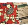 Pack of 3 large Beeswax Wraps Cat Design