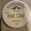 Rugged Nature Hair Clay Sandalwood