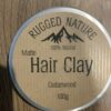 Rugged Nature Hair Clay Cedarwood