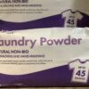 Laundry Powder Natural Non-Bio 3kg bag